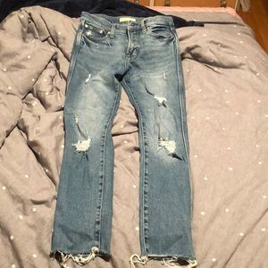 Super cute ripped GAP Jeans!